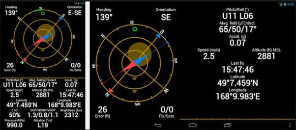 ung-dung-GPS Status and Toolbox App