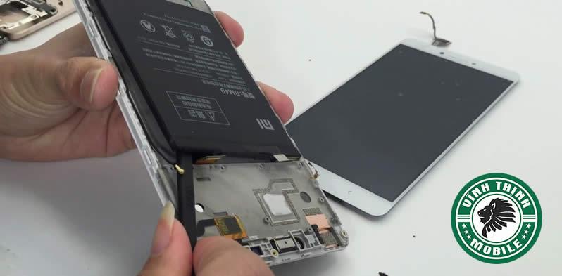 Quy trình thay mặt kính Xiaomi Mi Max Prime
