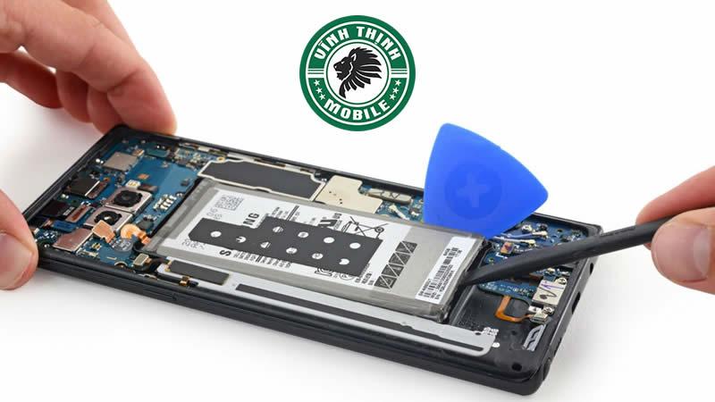 Giải pháp sửa Samsung Galaxy Note 8 vô nước ?