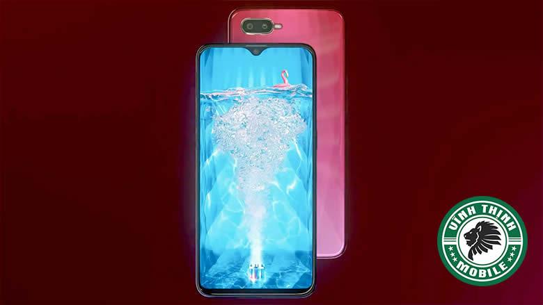 Oppo F9 có màn hình giọt nước độc đáo