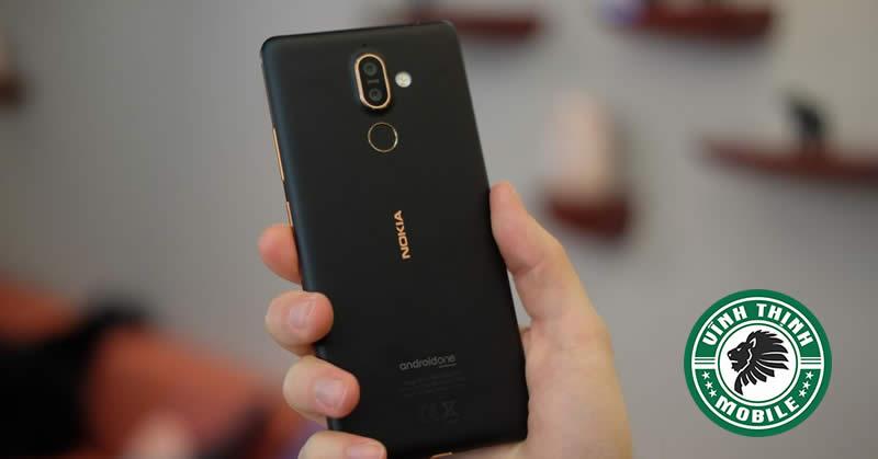 Thay mặt kính camera Nokia 7 Plus