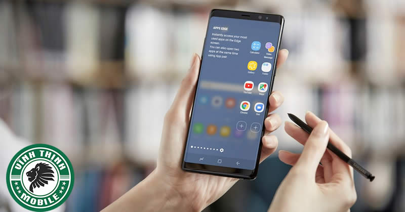 Quy trình thay mặt kính Samsung Galaxy Note 8