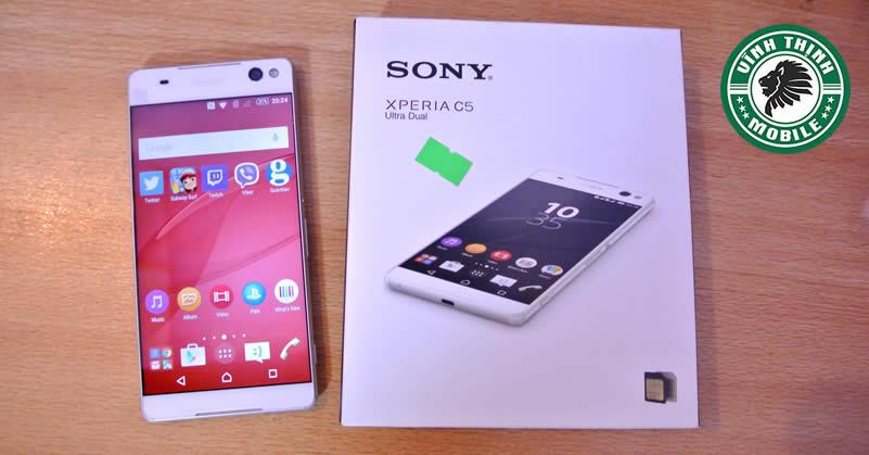 Thay pin Sony C5 Ultra tại Sửa Chữa Vĩnh Thịnh