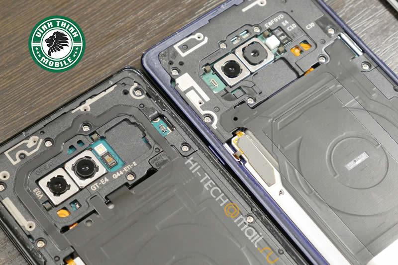 Khi nào cần thay mặt kính camera Samsung Galaxy Note 9 ?