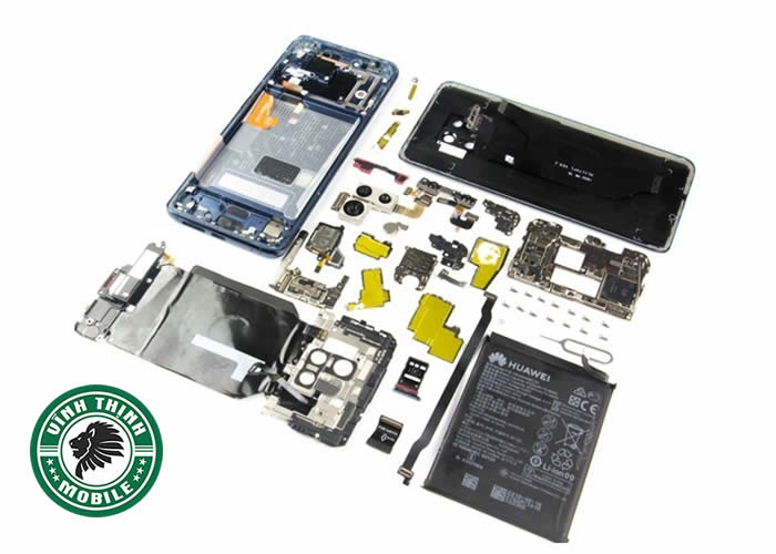 Lưu ý thay mặt kính Huawei Mate 20