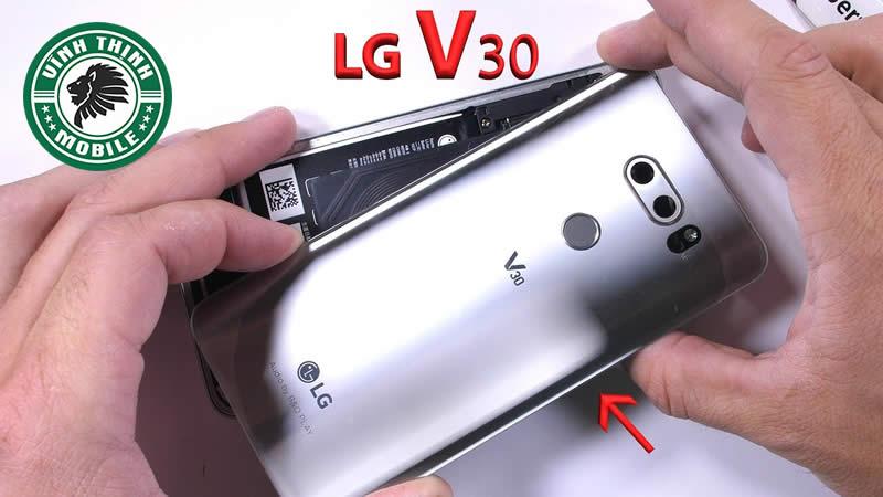 Giải pháp sửa LG V30 treo logo đột tử