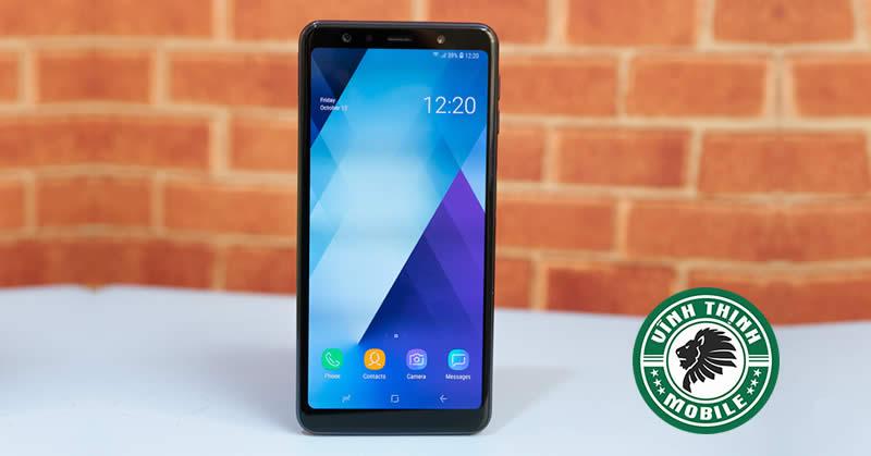 Quy trình thay mặt kính Samsung A7 2018 tại Sửa Chữa Vĩnh Thịnh