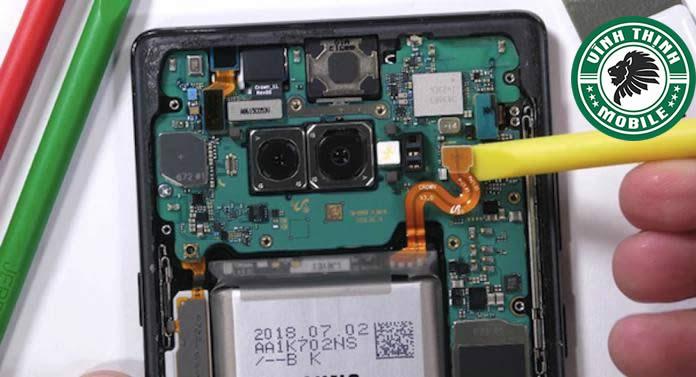 Giải pháp sửa Samsung Galaxy Note 9 vào nước ?