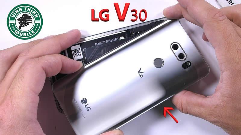 Lưu ý cần thiết khi thay nắp lưng LG V30 ?