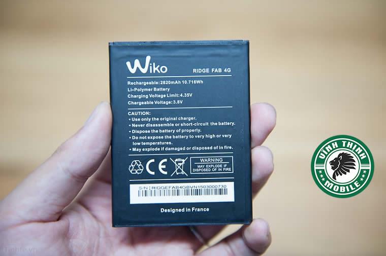 Pin Wiko Ridge Fab 4G zin chuẩn