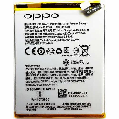 Pin Oppo F7 zin chuẩn