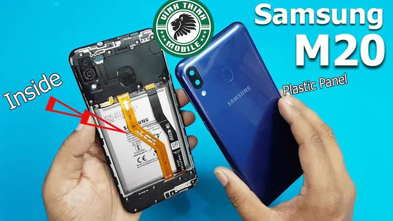 Quy trình thay mặt kính Samsung Galaxy M20 : Tháo máy