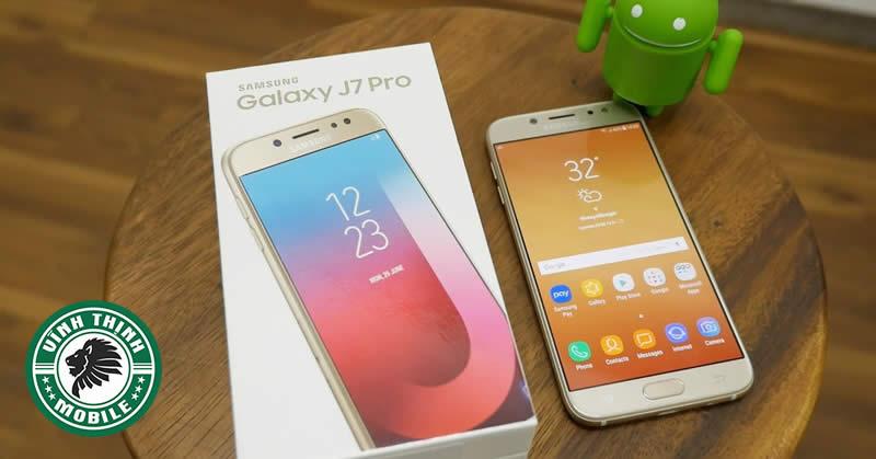 Sửa Samsung J7 Pro mất nguồn tại Sửa Chữa Vĩnh Thịnh