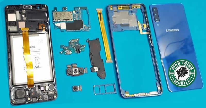 Giải pháp sửa Samsung Galaxy A7 2018 mất nguồn