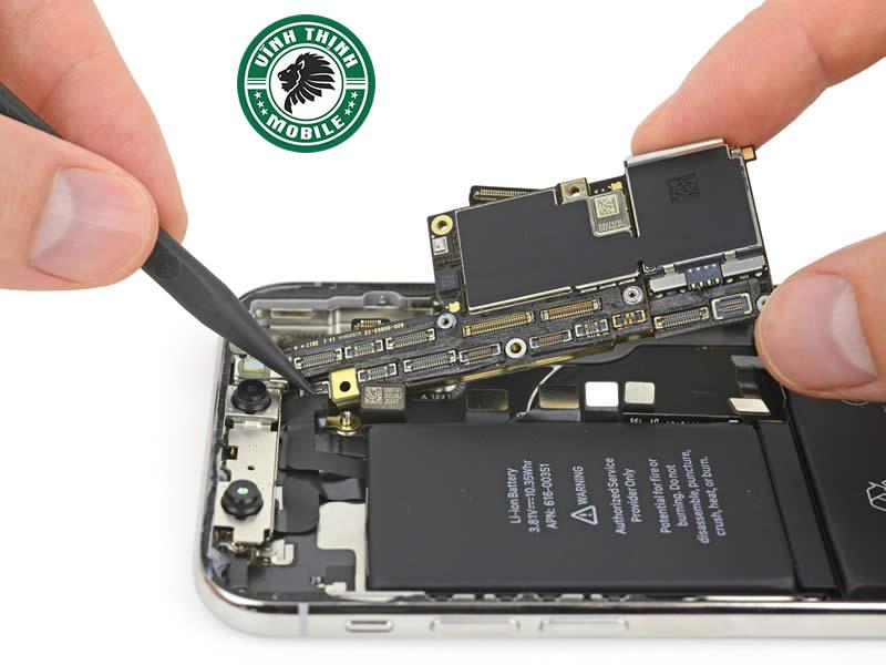 Lưu ý sửa iPhone X liệt cảm ứng