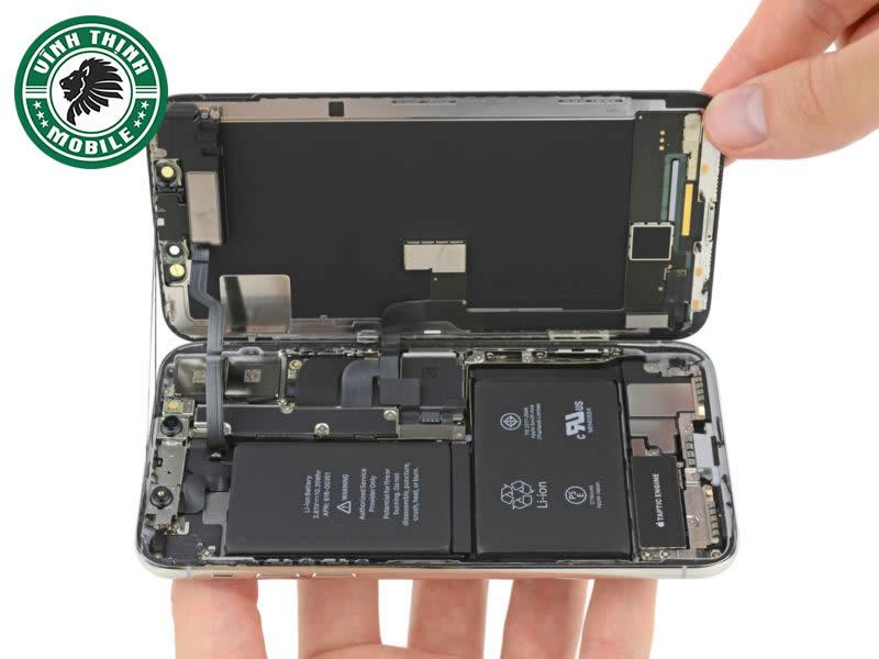 Quy trình thay pin iPhone X