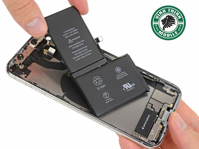 Cấu tạo pin iPhone X ?