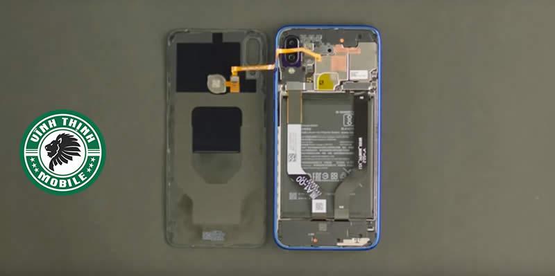 Lưu ý thay pin Xiaomi Redmi Note 7