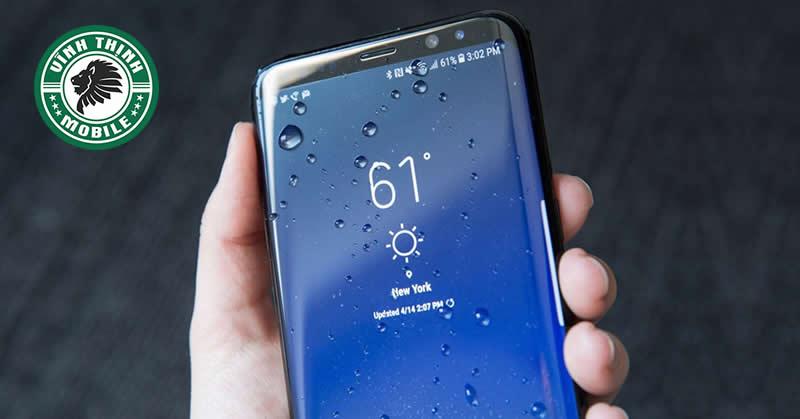 Thay mặt kính Samsung Galaxy Note 8 làm mất chống nước : Có hay không ?