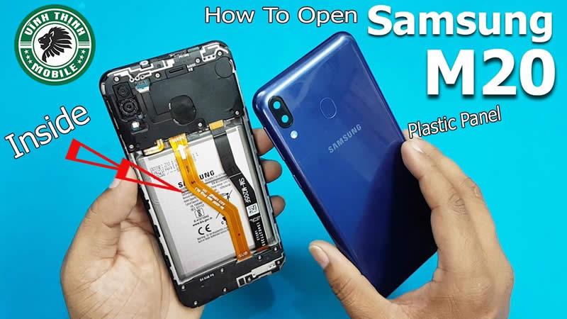 Lưu ý sửa Samsung Galaxy M20 vô nước
