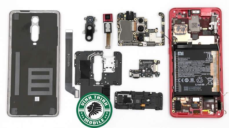 Lưu ý thay nắp lưng Xiaomi Redmi K20 Pro