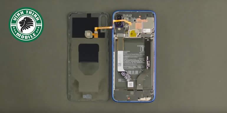 Lưu ý thay nắp lưng Xiaomi Redmi Note 7