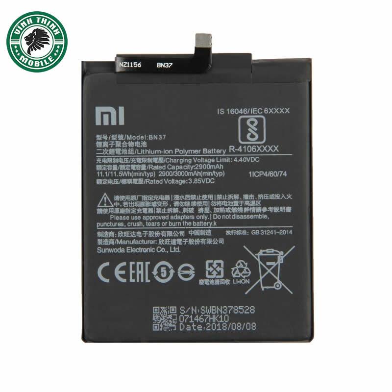 Pin Xiaomi Redmi 6A zin chuẩn
