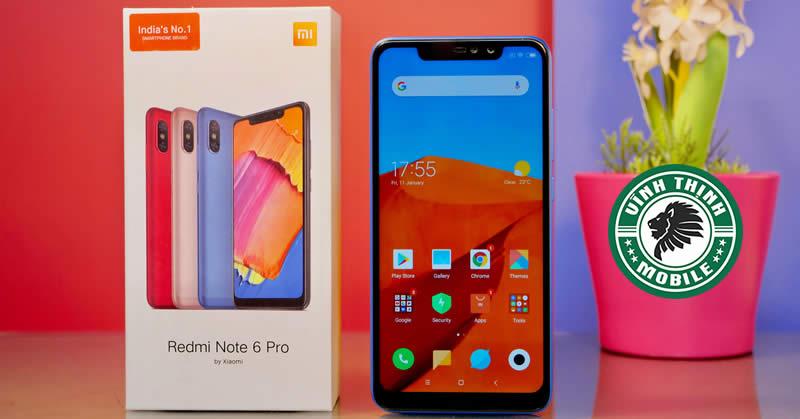 Sửa điện thoại Xiaomi Redmi Note 6 Pro