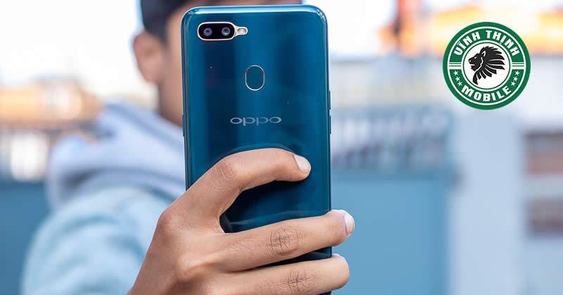 Thay mặt kính camera Oppo A7 tại Sửa Chữa Vĩnh Thịnh