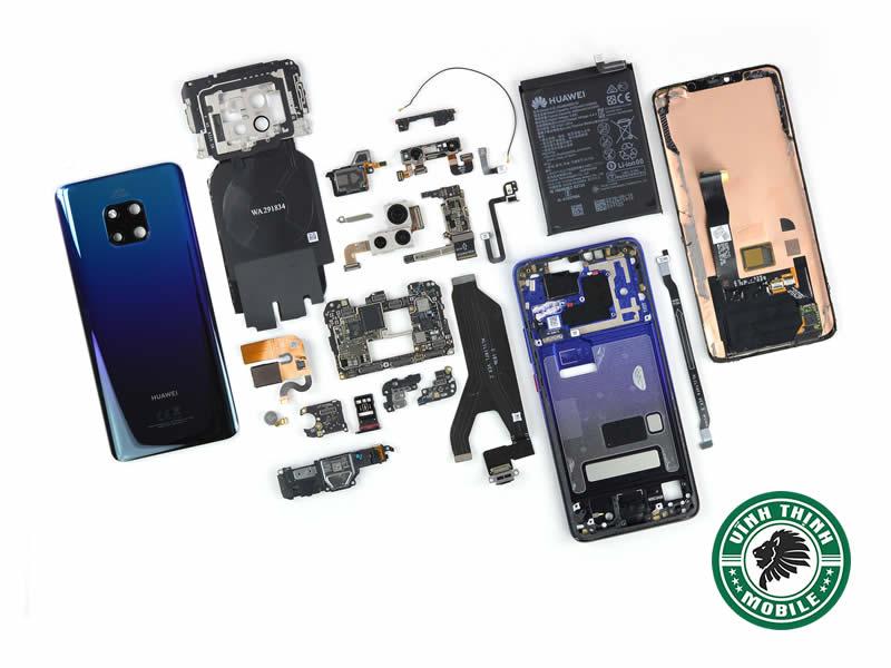 Lưu ý sửa điện thoại Huawei treo logo