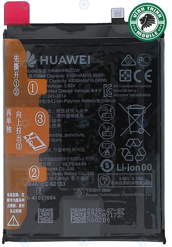 Pin Huawei Mate 20 Pro zin chuẩn
