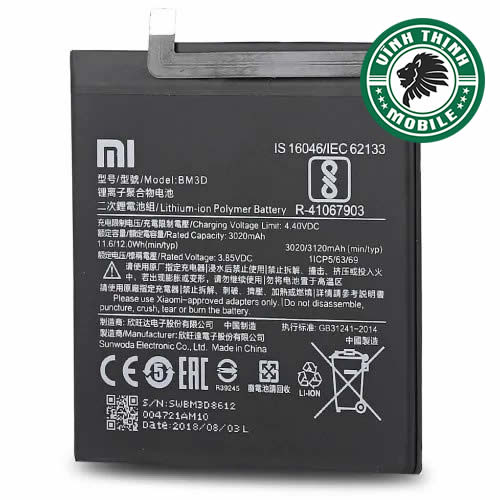 Pin Xiaomi Mi 8 SE zin chuẩn