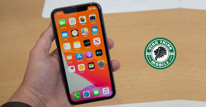 Thay màn hình iPhone 11 tại Sửa Chữa Vĩnh Thịnh
