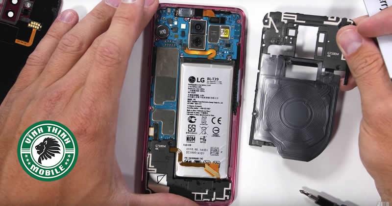 Lưu ý thay nắp lưng LG G7