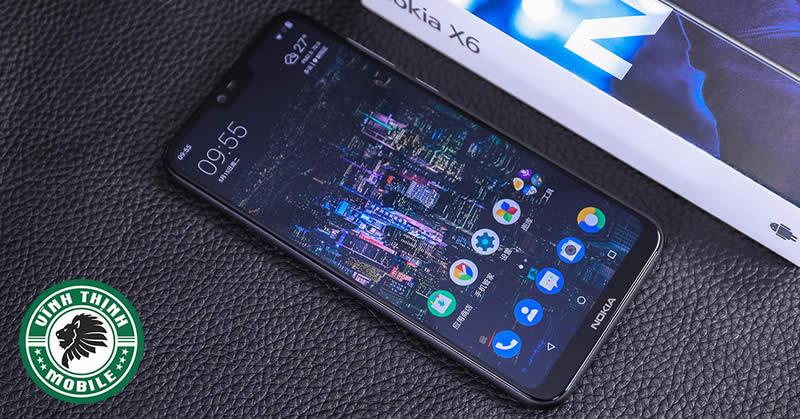 Thay màn hình Nokia 6.1 Plus tại Sửa Chữa Vĩnh Thịnh