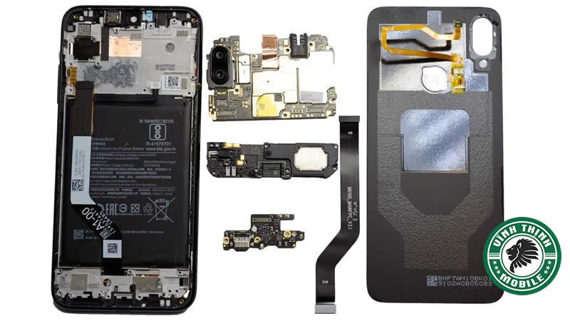 Giải pháp thay cảm biến vân tay Xiaomi Redmi Note 7