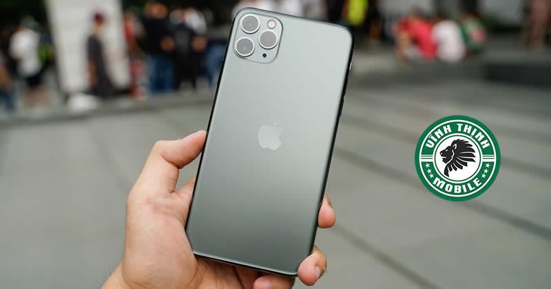 Sửa iPhone 11 Pro Max mất nguồn tại Sửa Chữa Vĩnh Thịnh