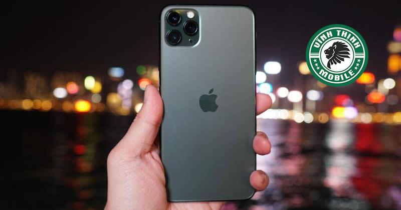 Thay mặt kính camera iPhone 11 Pro