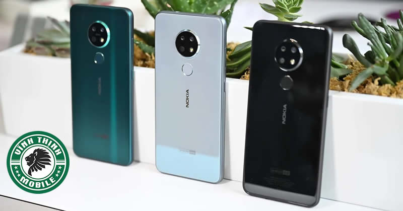 Thay mặt kính camera Nokia 7.2
