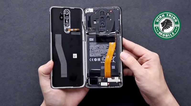 Lưu ý thay kính camera Xiaomi Redmi Note 8 Pro