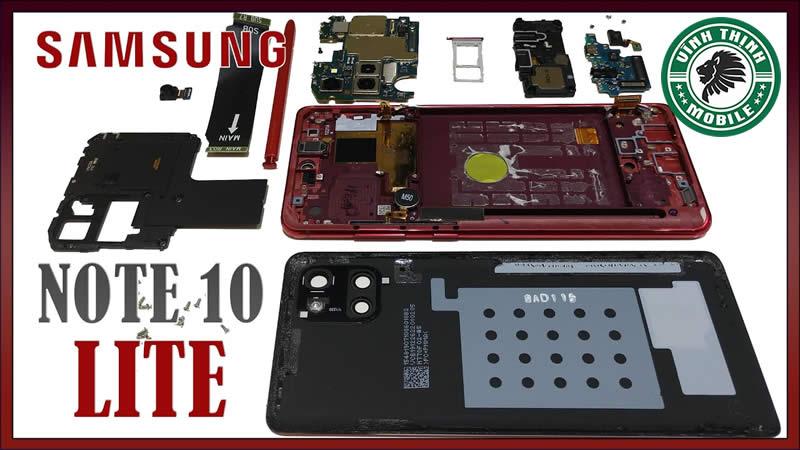Những lưu ý khi thay mặt kính Samsung Galaxy Note 10 Lite