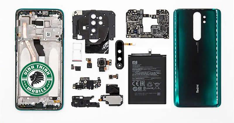 Lưu ý thay nắp lưng Xiaomi Redmi Note 8 Pro