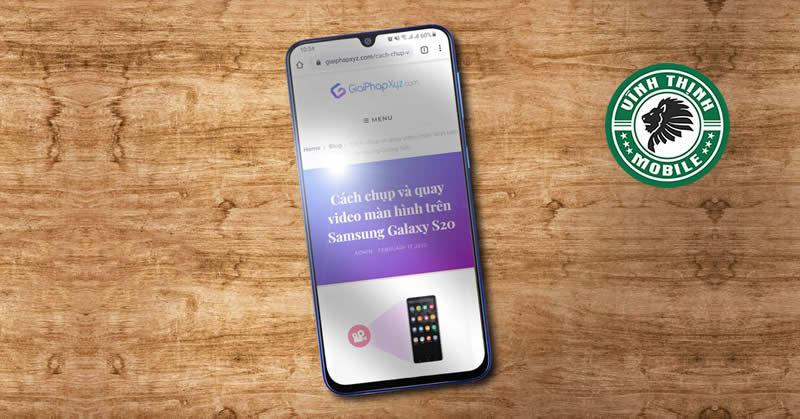 Thay màn hình Samsung Galaxy M31 tại Sửa Chữa Vĩnh Thịnh
