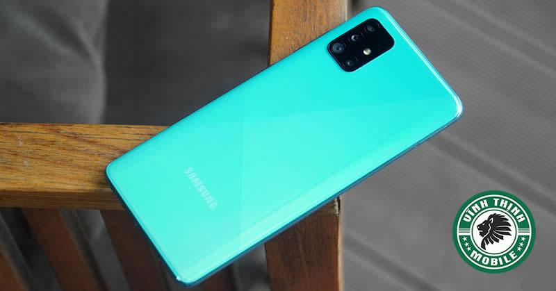 Thay mặt kính camera Samsung Galaxy A51