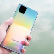 Thay mặt kính camera Samsung Galaxy Note 10 Lite