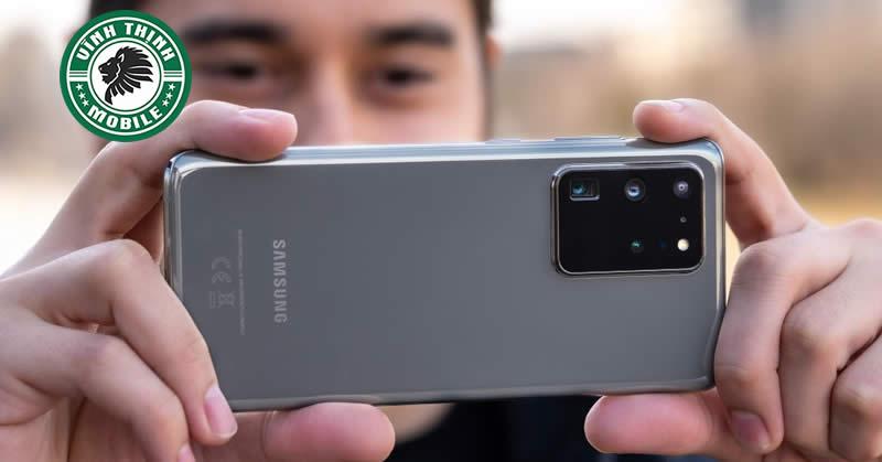Thay mặt kính camera Samsung Galaxy S20 Ultra