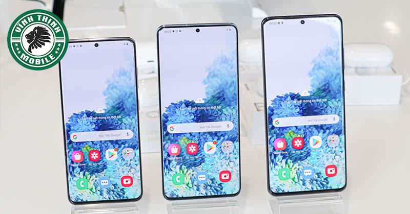 Thay mặt kính Samsung Galaxy S20, S20+ tại Sửa Chữa Vĩnh Thịnh