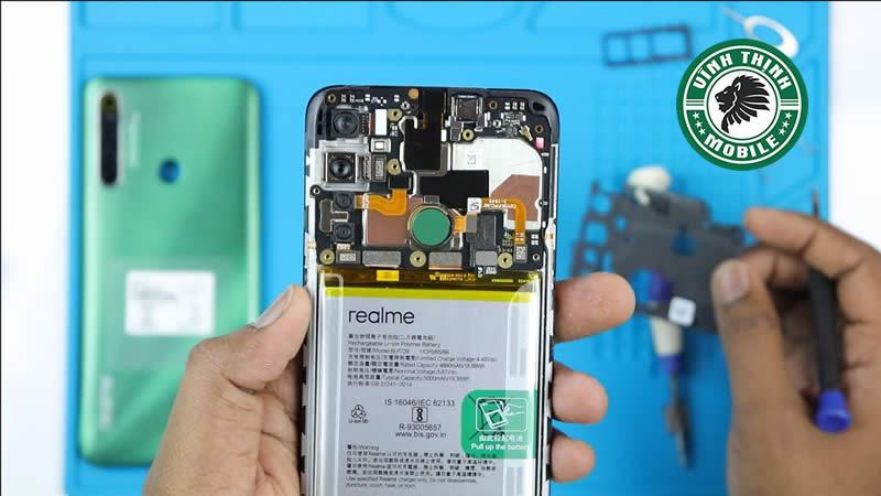 Lưu ý thay mặt kính camera Realme 5i