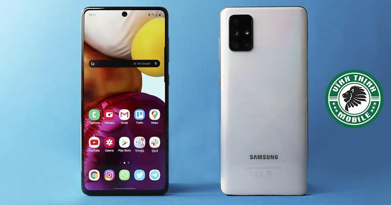 Thay màn hình Samsung Galaxy A71 tại Sửa Chữa Vĩnh Thịnh