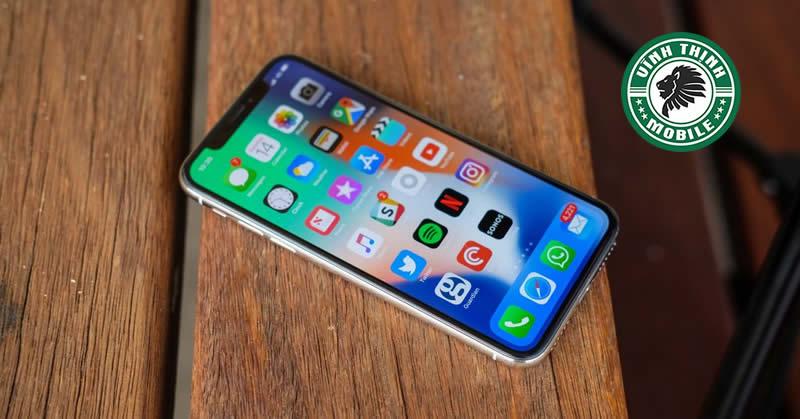 iPhone X liệt cảm ứng : Nguyên nhân là gì ?